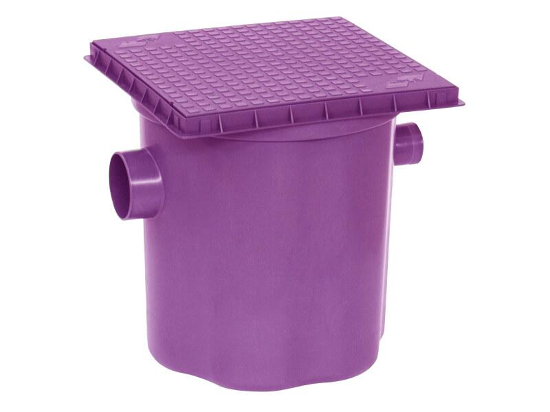 Caixa de gordura roxa